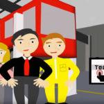 Technician's Touchscreen for Fleetmaster