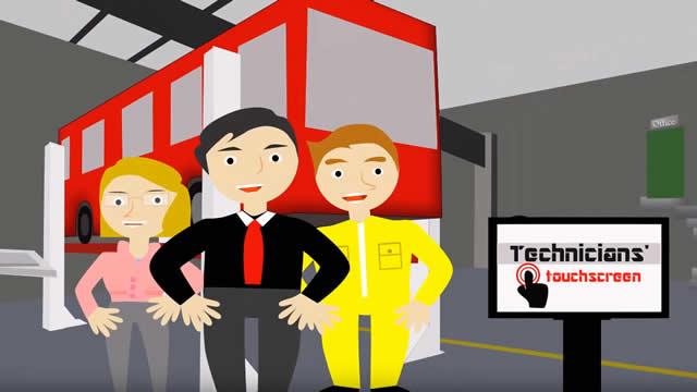 Fleetmaster Touchscreen video