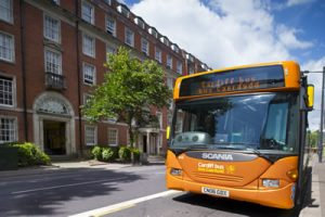 A Cardiff Bus bus