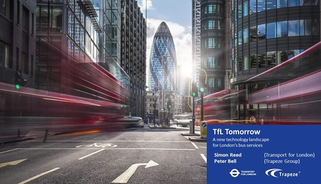 TfL & Trapeze Keynote (2020 Transport Innovation Online Summit)