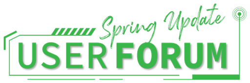 User-Forum-Spring-Update-Logo